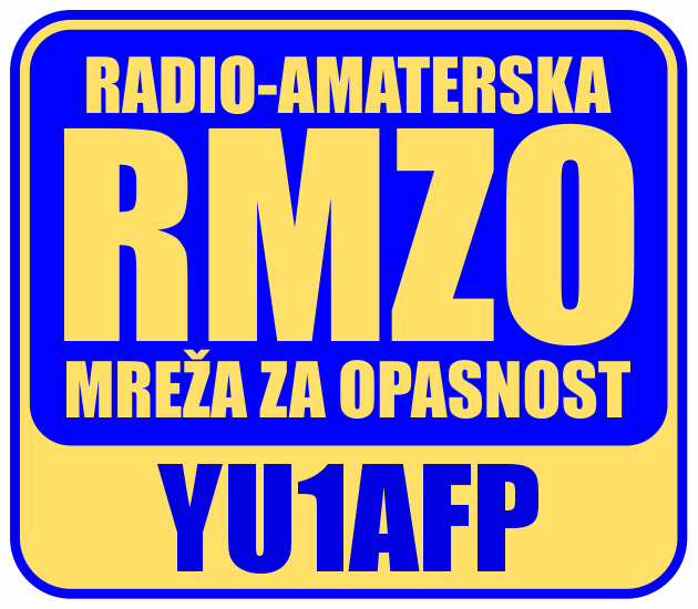 RMZO (EMERGENCY SERVICE) YU1AFP